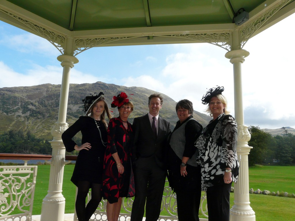 Inn on the Lake Fashion Show Lake District Hotels