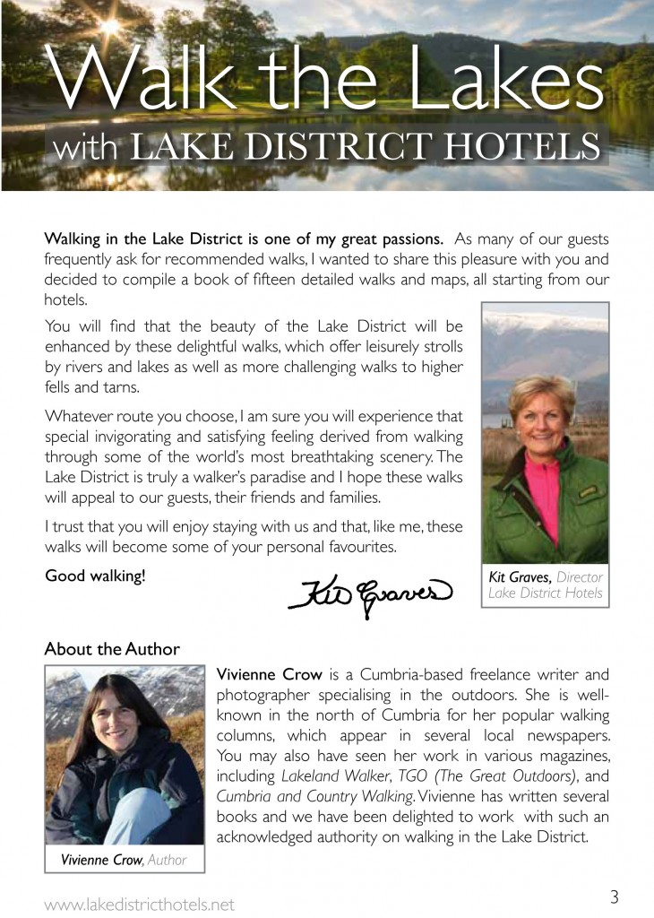 Lake District Walking Book