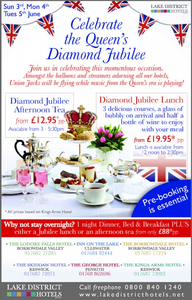 Jubilee Afternoon tea celebrations