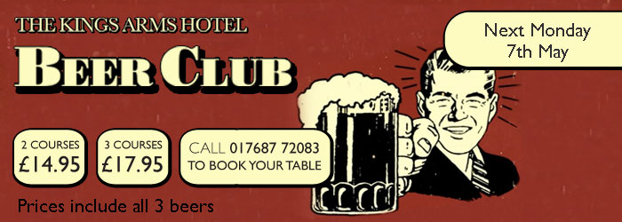 May Beer Club at the Kings Arms Hotel
