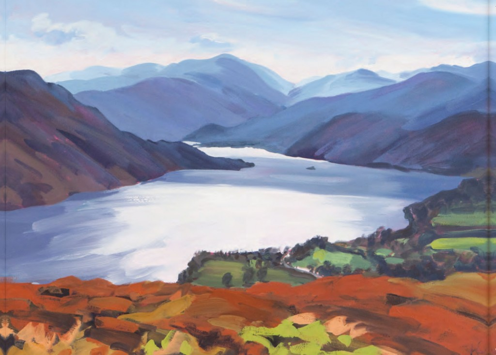 ullswater painting alison critchlow