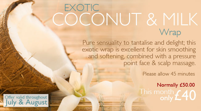 Elemis Exotic Coconut & Milk Wrap