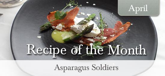 Asparagus Soldiers