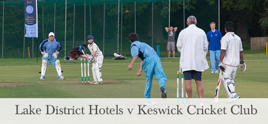 Lake District Hotels Cricket match