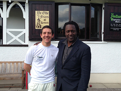 Neels and Henry Olonga