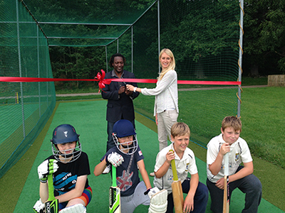 Official Opening of new nets