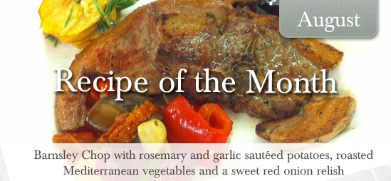 August Recipe of the Month