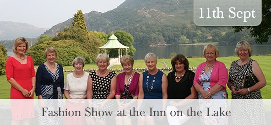 Fashion show at the Inn on the Lake