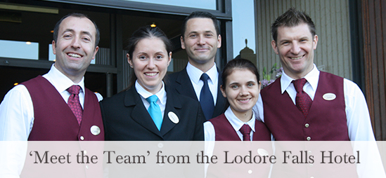 Meet the Team - The Lodore Falls Hotel Restaurant