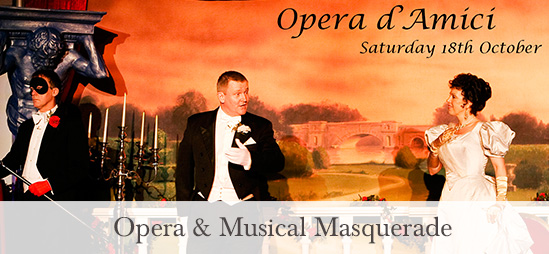 Opera & Musical Masquerade at the George Hotel