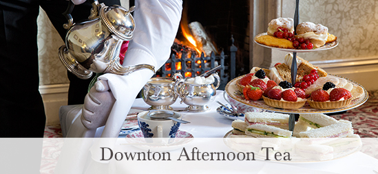 Downton Afternoon Tea at the Borrowdale Hotel