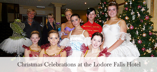 Christmas Celebrations at the Lodore Falls Hotel