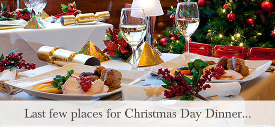 Last few places for Christmas Day dinner at the Kings Arms Hotel