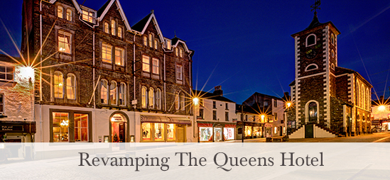Revamping the Queens Hotel