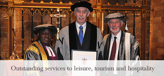 Lake District Hotels Director recieves Honorary Fellowship