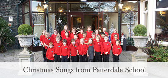 Christmas songs from the pupils of Patterdale School