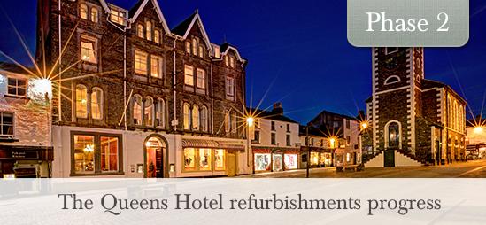 The Queens Hotel refurbishments progress