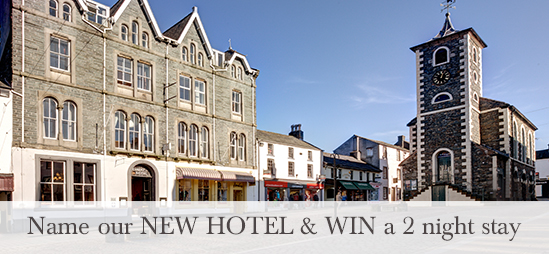 Name our NEW HOTEL & WIN a 2 night stay