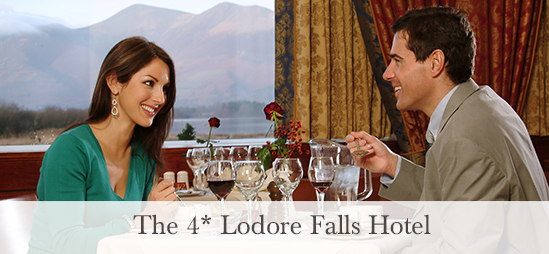 Valentines Day at the Lodore Falls Hotel