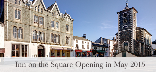 Inn on the Square opening in May 2015