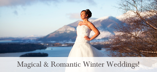 Winter Weddings at the Lodore Falls Hotel