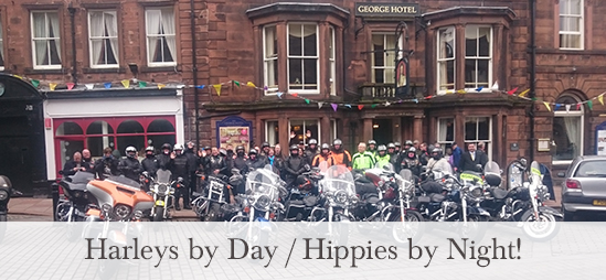 From Harleys to Hippies at the George Hotel