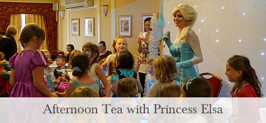 Afternoon Tea with Elsa at the Skiddaw Hotel