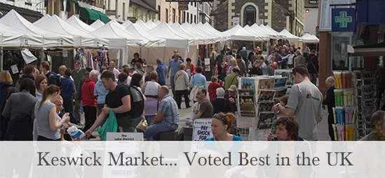 Keswick Market - voted best in the UK