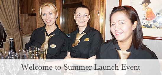 Welcome to Summer Launch Event at the Kings Arms Hotel