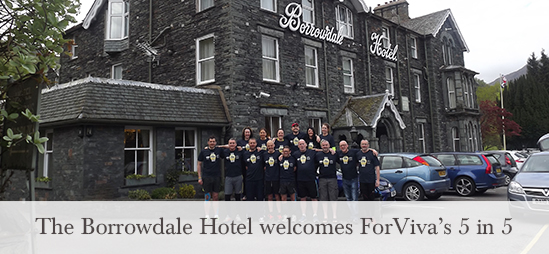 The Borrowdale Hotel welcomes guests on the marathon challenge