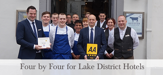Four by Four for Lake District Hotels
