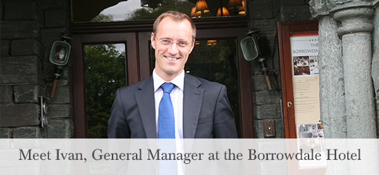 Meet Ivan, General Manager at the Borrowdale Hotel