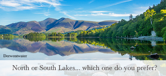 North or South Lakes.. which one do you prefer?