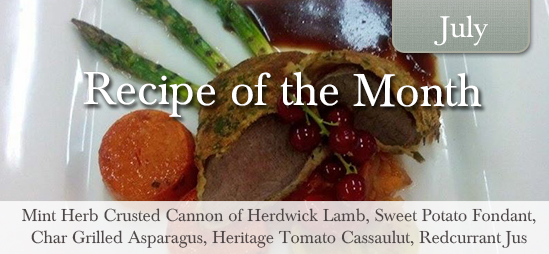 July Recipe of the Month