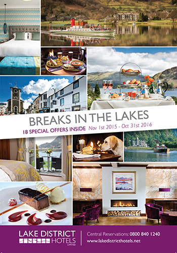 Special Breaks Brochure with Lake District Hotels