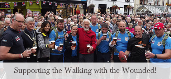 Lake District Hotels supporting the Walking with the Wouded
