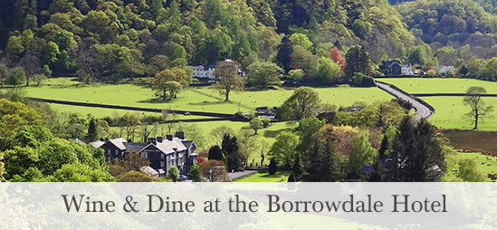 Wine & Dine at the Borrowdale Hotel