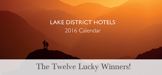 Lake District Hotels 2016 Calendar