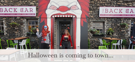 Halloween is coming to town...