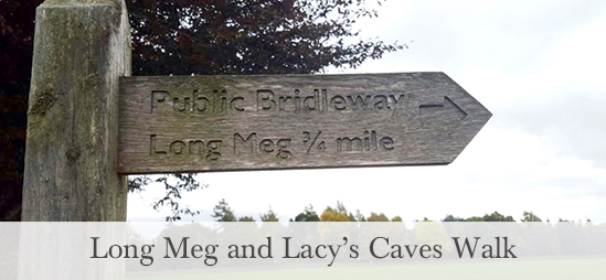 Long Meg and Lacy's Caves Walk