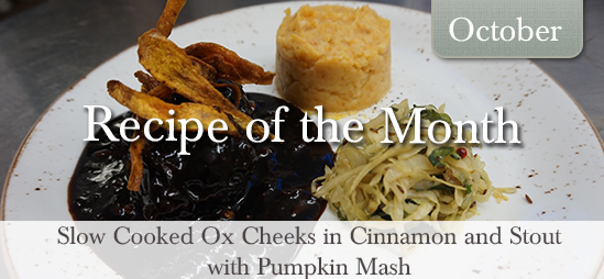 Recipe of the Month October 2015
