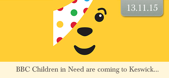 BBC Children In Need are coming to Keswick