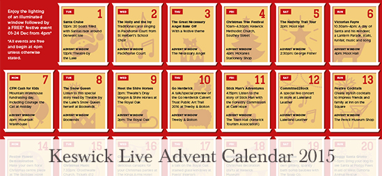 Keswick Live Advent Calendar