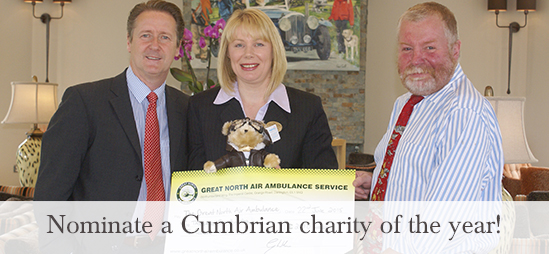 Nominate a Cumbrian charity of the year