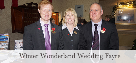 Winter Wonderland Wedding Fayre at the Inn on the Lake