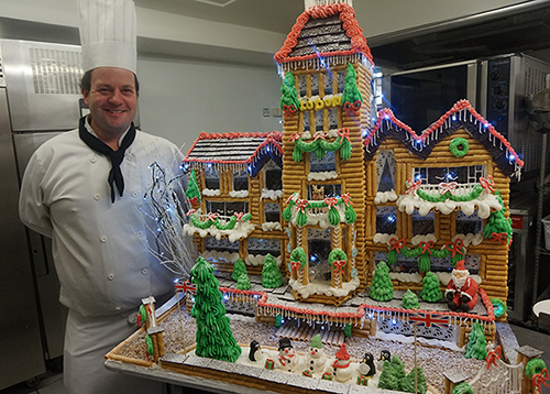 Lodore Falls Gingerbread House small