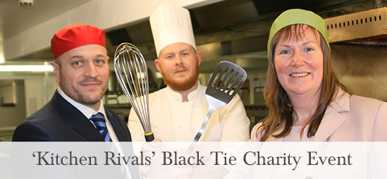 Kitchen Rivals Charity Event at the Lodore Falls Hotel