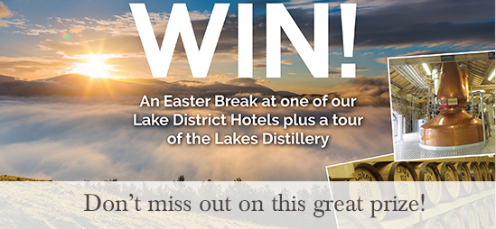 WIN a Easter Break at one of our Lake District Hotels