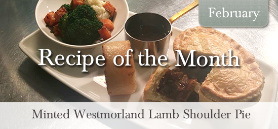 Minted Westmorland Lamb Shoulder Pie