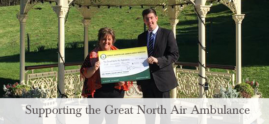 Lake District Hotels supporting the Great North Air Ambulance